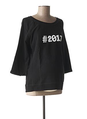 Sweat-shirt noir QUEEN MUM pour femme