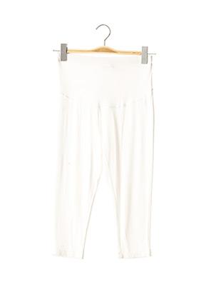 Legging blanc MENONOVE pour femme