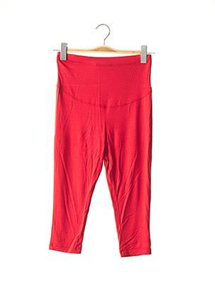 Legging rouge MENONOVE pour femme