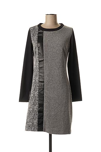 Robe mi-longue noir SISTTER pour femme