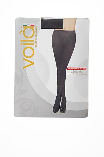 Collants noir VOILA pour femme