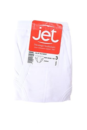 Slip/Culotte blanc JET pour homme