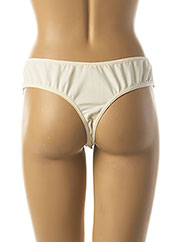 String/Tanga beige ULLA DESSOUS pour femme seconde vue