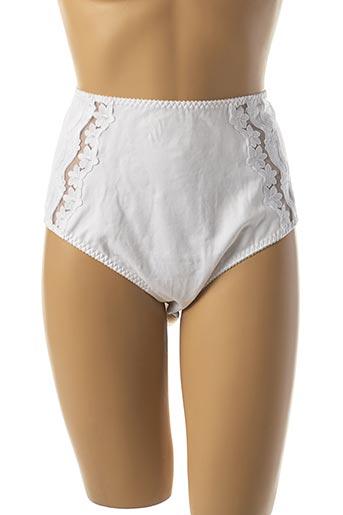 Slip/Culotte blanc ANITA pour femme