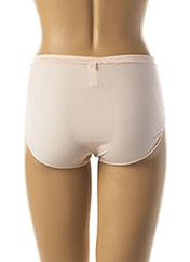 Slip/Culotte rose SECRET DE CUIR pour femme seconde vue