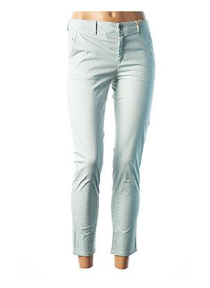 Pantalon 7/8 vert COUTURIST pour femme