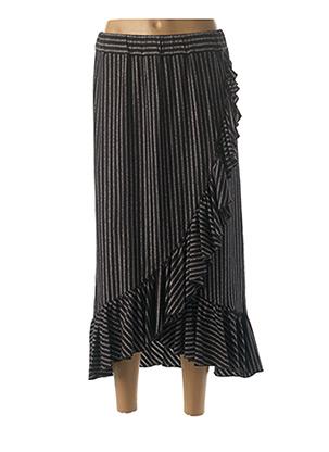 Jupe longue noir DENIM &DRESS pour femme