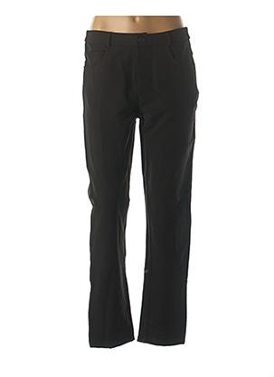 Pantalon chic noir L33 pour femme