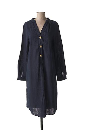 Robe mi-longue bleu CHIC ETJEUNE pour femme