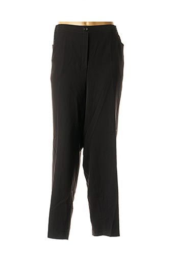 Pantalon chic noir ADELINA BY SCHEITER pour femme