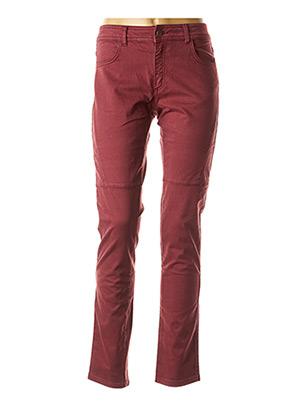 Pantalon casual rouge MADO ET LES AUTRES pour femme