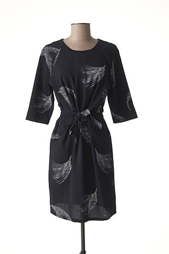 Robe mi-longue bleu WMN pour femme