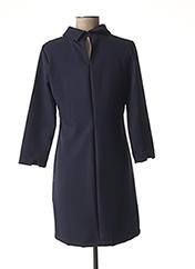 Robe courte bleu GLÜEN pour femme seconde vue