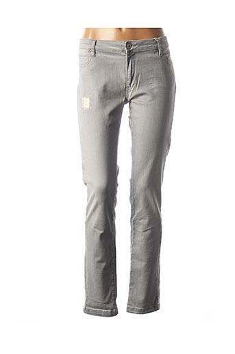 Jeans coupe droite gris COP COPINE pour femme
