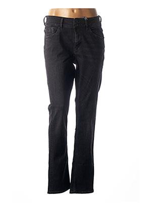 Jeans coupe slim noir GARCIA pour femme