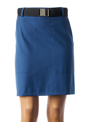 Jupe courte bleu COP COPINE pour femme