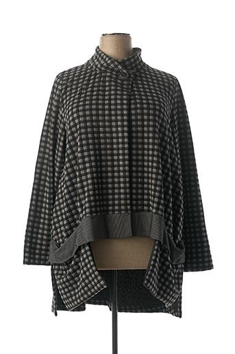 Veste casual gris ALEMBIKA pour femme