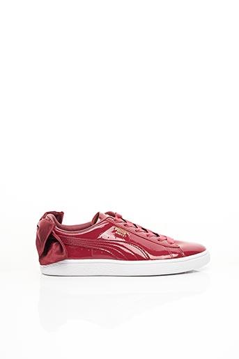 Baskets rouge PUMA pour femme