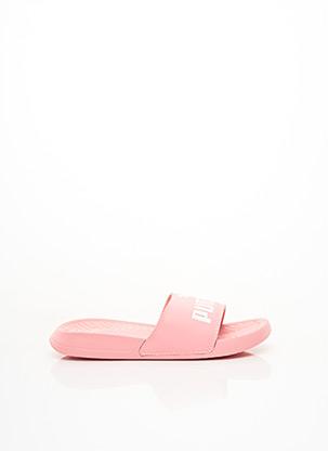 Mules/Sabots rose PUMA pour fille