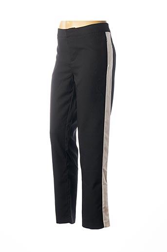 Pantalon 7/8 noir CHATTAWAK pour femme