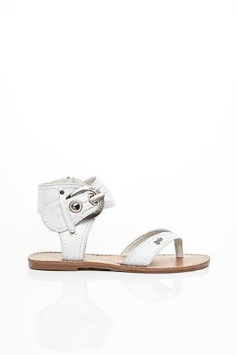 Sandales/Nu pieds blanc LES P'TITES BOMBES pour femme