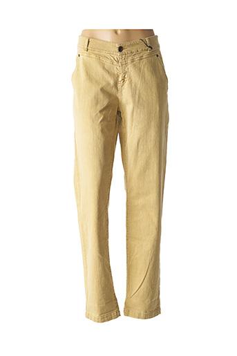 Jeans boyfriend beige IKKS pour femme