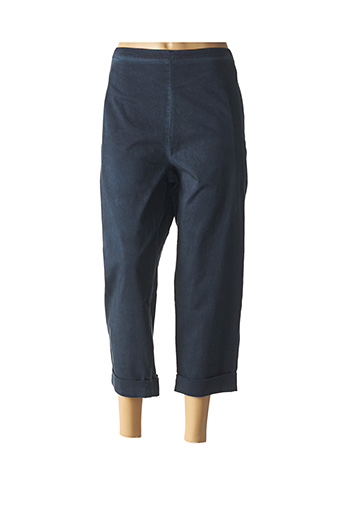 Pantalon 7/8 bleu ELEMENTE CLEMENTE pour femme