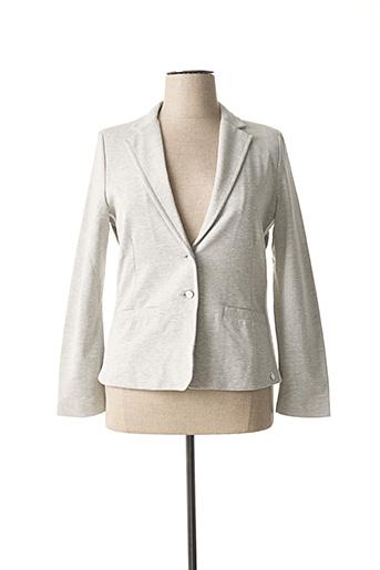 Veste chic / Blazer gris SANDWICH pour femme
