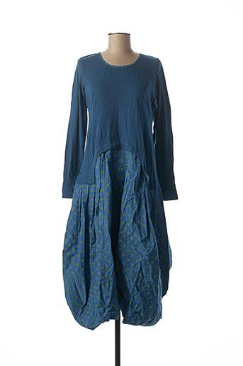 Robe longue bleu RHUM RAISIN pour femme