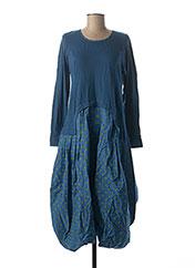 Robe longue bleu RHUM RAISIN pour femme seconde vue