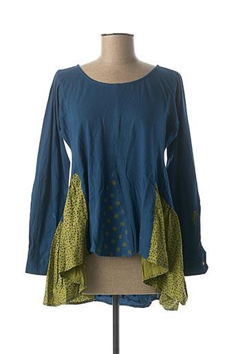 Tunique manches longues bleu RHUM RAISIN pour femme