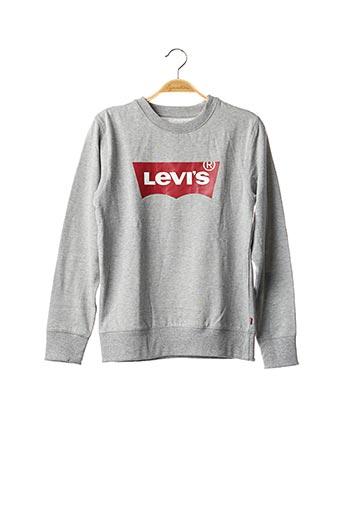 Sweat-shirt gris LEVIS pour garçon