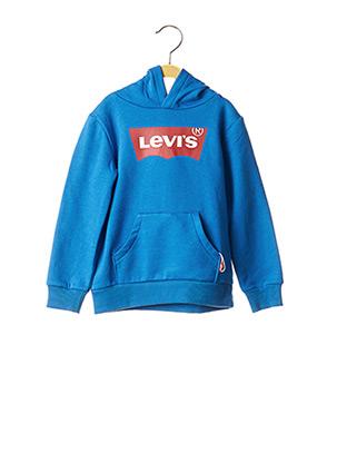 Sweat-shirt bleu LEVIS pour garçon