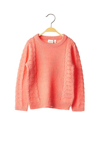 Pull col rond rose NAME IT pour fille
