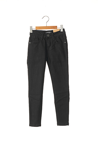 Pantalon casual noir MINI MIGNON pour garçon