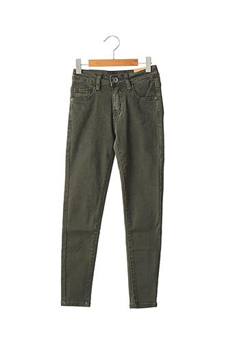 Pantalon casual vert MINI MIGNON pour garçon