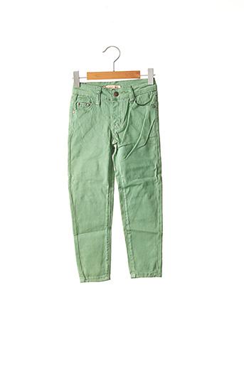 Pantalon casual vert PM LOVING pour garçon