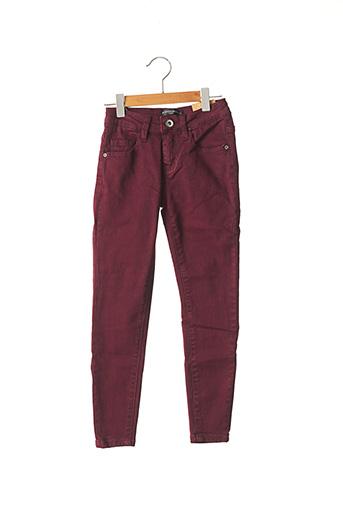 Pantalon casual violet MINI MIGNON pour garçon