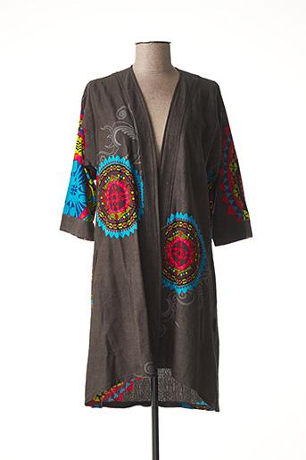 Veste casual gris DIPAWALI pour femme