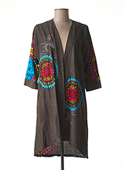 Veste casual gris DIPAWALI pour femme seconde vue