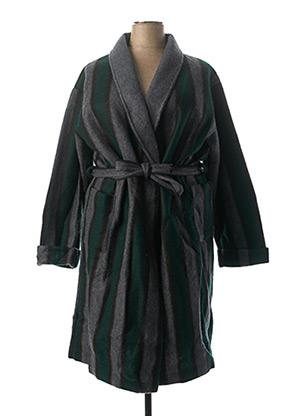 Robe de chambre vert F COLLECTION pour femme