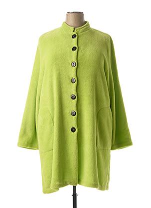 Robe de chambre vert MASSANA pour femme
