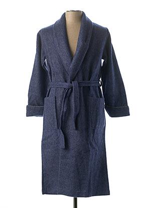 Robe de chambre bleu GERARD FURNON pour homme