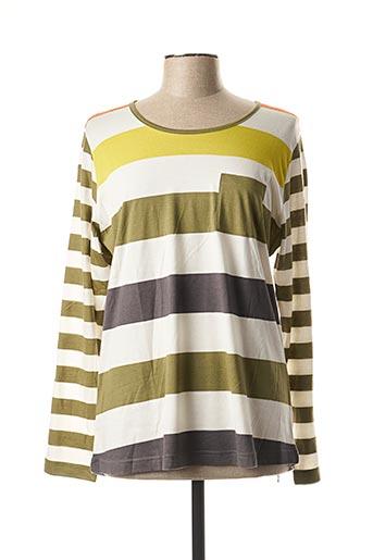 T-shirt manches longues vert JENSEN pour femme