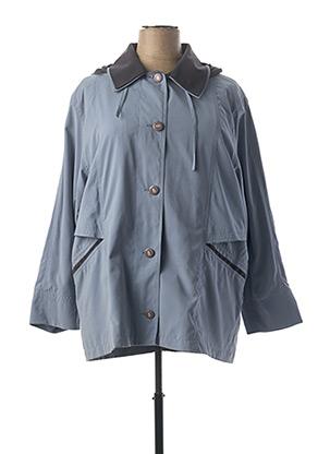 Manteau court bleu C.MISSARO pour femme