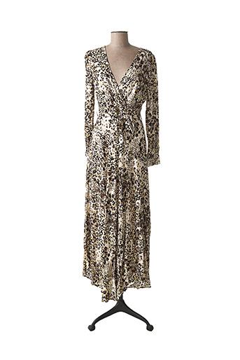 Robe longue beige BELCCI pour femme