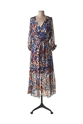 Robe longue bleu EMMA ELLA pour femme