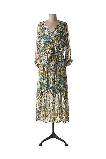 Robe longue vert EMMA ELLA pour femme