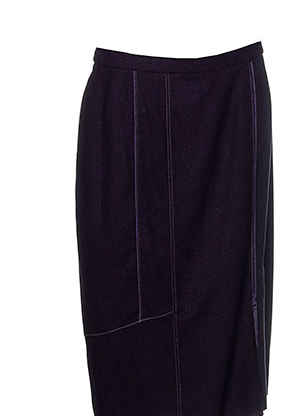 Jupe mi-longue violet PAUPORTÉ pour femme