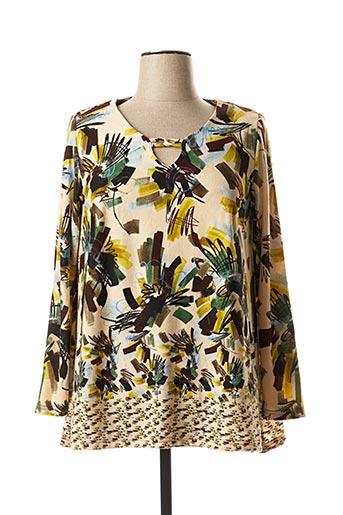 T-shirt manches longues beige ARONA pour femme